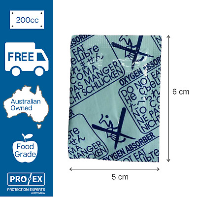 Oxygen Absorber 200cc - 150 units (3 x 50unit pkts)