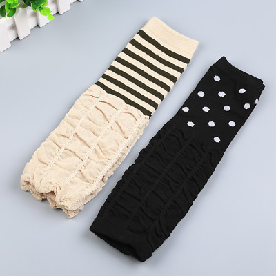 DD25 Baby Leg/Arm Legging Toddler Long Tight Foot Cover Stocking Leg Warmers