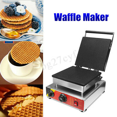 220V Electric Waffle Maker Machine Oven Waffle Pan Muffin chen Household