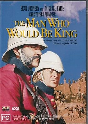 The Man Who Would Be King - Connery & Caine - New & Sealed Region 4 Dvd
