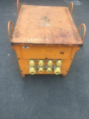 Blakely Electronics 3 phase transformer - 110v - 10kva - with 5 pin sockets