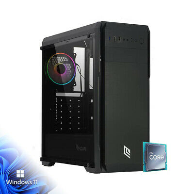 Pc desktop Quad Core 3.40ghz Ram 8gb Ddr4/Sdd 240Gb Pc fisso Computer ufficio