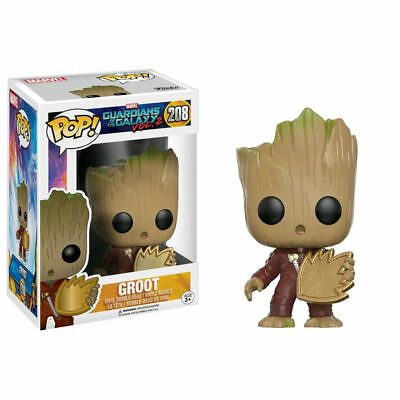 Guardians of the Galaxy 2 Pop! Funko Groot w/Patch Vinyl Figure Marvel n° 208
