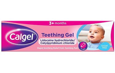 Calgel Calpol Teething Gel 10g - Rapid Soothing Relief from Teething Pain