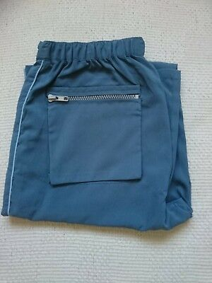 BNWT Girl's Tammy Bootcut Trousers Turquoise Age 9