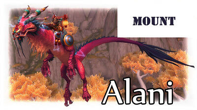 Reins of the Thundering Ruby Cloud Serpent WOW mount // All EU Server/