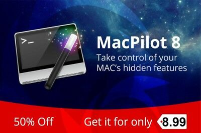 MacPilot 10.15 Newest Version | Enable hidden features on your MAC | Fast email