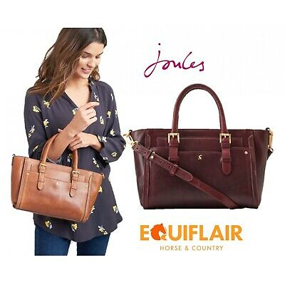 JOULES HATHAWAY LEATHER Everyday Bag ONE in TAN in One Size ... 4425aac695432
