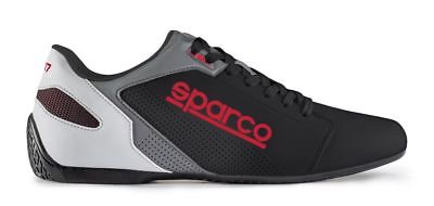 SPARCO SL-17 sneakers leisure low SHOES casual BLACK RED unisex leather NEW 2019