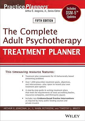 The Complete Adult Psychotherapy Treatment Planner Includes DSM-5 ** PDF **