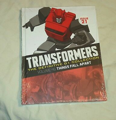 Transformers G1 Definitive Collection Issue 21 Volume 46 (Brand new sealed)