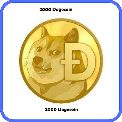 2000 Dogecoin(DOGE) CRYPTO MINING CONTRACT ( 2000 DOGE )