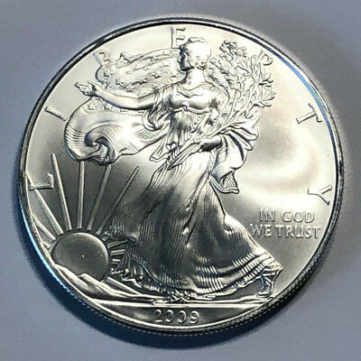 2009 1 Oz Silver American Eagle $1 (Brilliant Uncirculated)