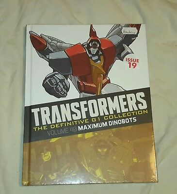 Transformers G1 Definitive collection issue 19 Volume 40 (Brand new sealed)
