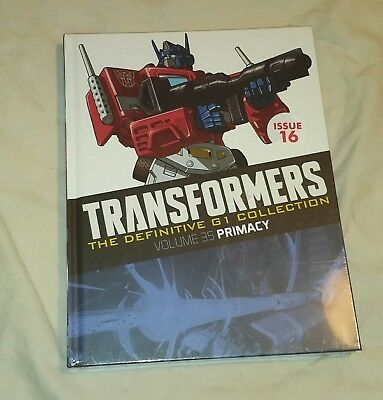 Transformers G1 Definitive collection issue 16 Volume 35 (Brand new sealed)