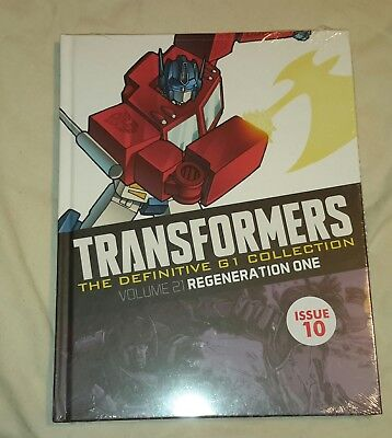 Transformers G1 Definitive collection issue 10 Volume 21 (Brand new sealed)