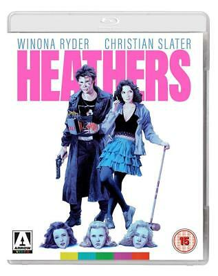 Heathers - Arrow Blu ray NEW & SEALED - Winona Ryder, Christian Slater