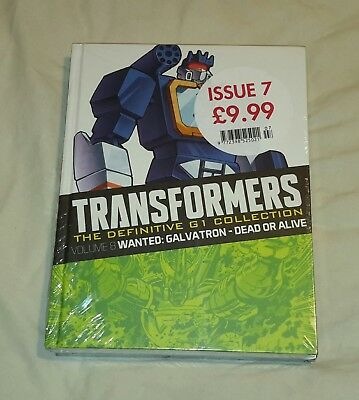 Transformers G1 Definitve collection issue 7 volume 8 and Volume 6 (brand new se