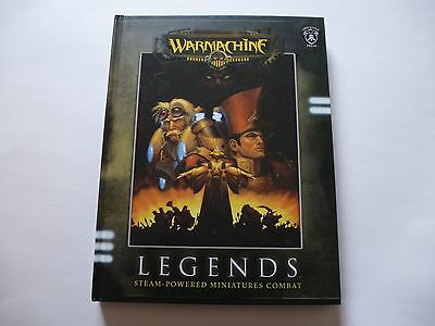 Warmachine Legends Steam-Powered Miniatures Combat Hardcover Book