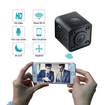 Mini Telecamera Full HD Wifi IP Wireless Spia Micro Nascosta Spy Video Camera DV