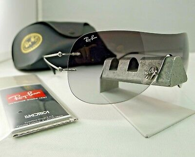 0634d0d790 Ray-Ban Rb8057 159 11 Tech Titanium Grey With Grey Gradient Sunglasses New  9.9