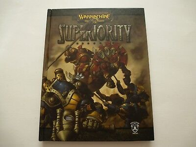 Warmachine Superiority Steam-powered Miniatures combat Hardcover book