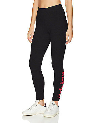 9082791a8b8bc adidas Women's Essentials Linear Tights Training Long Tight Black S97157