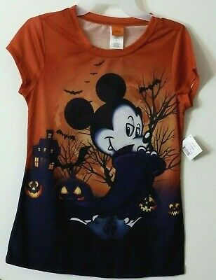 866b8c9f Disney MICKEY MOUSE VAMPIRE Halloween T-SHIRT Juniors Size M L XL XXL NEW W/