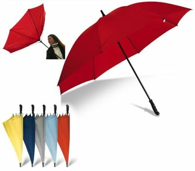 Ombrello windproof maxi 30 pollici antivento raggi in fibra di vetro 0MWU