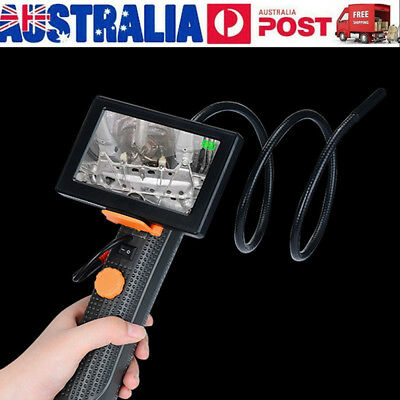 "4.3"" LCD Ruggedized Video Inspection Snake Scope Camera Borescope Endoscope 720P"