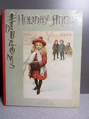 1894 Dutton's Holiday Annual Book