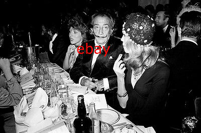 Exclusive Unpublished PHOTO Ref 253 Salvador Dali Amanda Lear