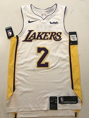 the best attitude edd83 57724 LONZO BALL ROOKIE Season Lakers Authentic Jersey Size 56 Available Only