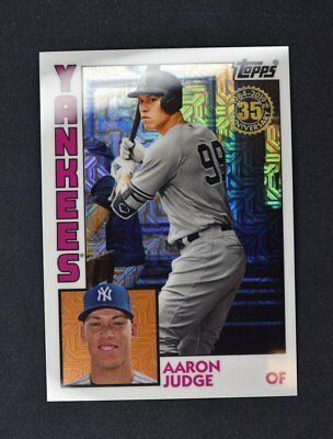 2019 Topps Series 1 1984 Silver Pack Chrome Base #T84-18 Aaron Judge