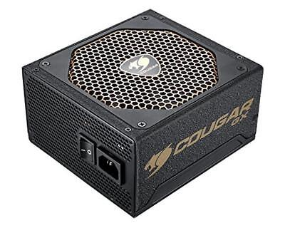 (TG. 600) COUGAR GX Serie 600W 80 Plus Gold Netzteil 14cm Luefter Ultra Leise EP