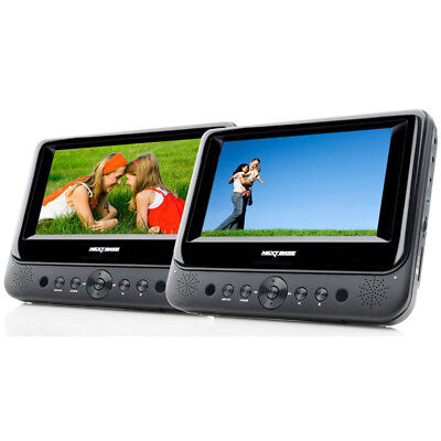 Nextbase 7 inch in Car Portable DVD Twin Player  SDV48-AC Portable DVD Player