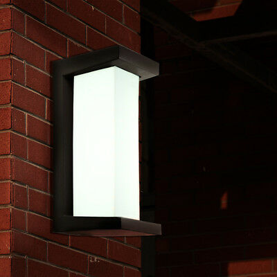 Modern 10W LED Wall Light Outdoor Waterproof Sconce Lighting Lamp Cool White