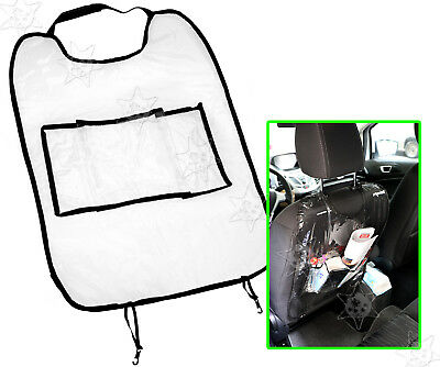 Car Auto Seat Back Protector Cover Backseat for Children Kick Mat Mud Dirt New
