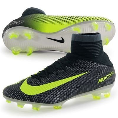 best sneakers a3122 8e0fa Nike pour Homme Mercurial Veloce 3 III Df Cr7 Fg Crampons de Football  852518-376