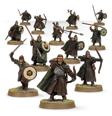Warhammer Warriors of Rohan on Sprue The Lord of the Rings plastic new