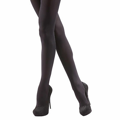 01b234231ffb4 Silky Womens/Ladies Opaque 60 Denier Luxury Soft Tights (2 Pairs) (LW339