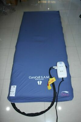 Curocell CF-10 Alternating Pressure Relief Therapy Overlay Mattress & Pump