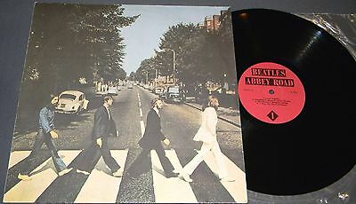 The Beatles - Abbey Road (From Radio Stock) Lp