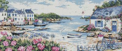 By the Sea - Cross Stitch Chart/Pattern/Design/XStitch