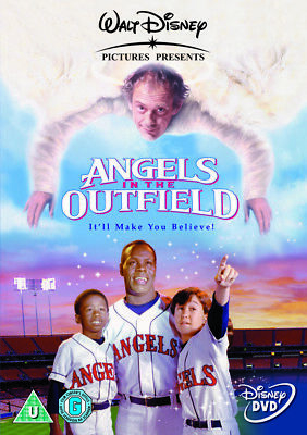 Angels In The Outfield DVD | (Christopher Lloyd) (Danny Glover) (1994)