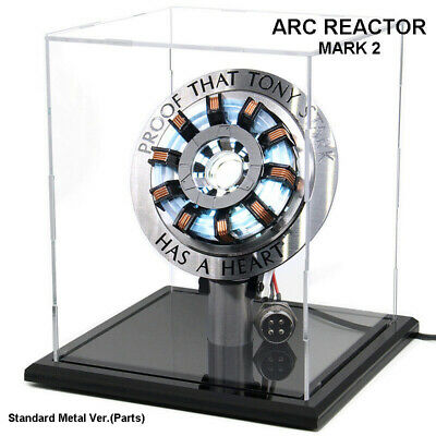 Avengers Iron Man Arc Reactor MK2 Reactor Standard Metal Version Kids DIY Gifts