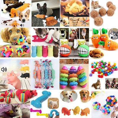 Pet Dog Cat Funny Durability Toy Dog Puppy Elasticity Teeth Play Chew Toys Hot