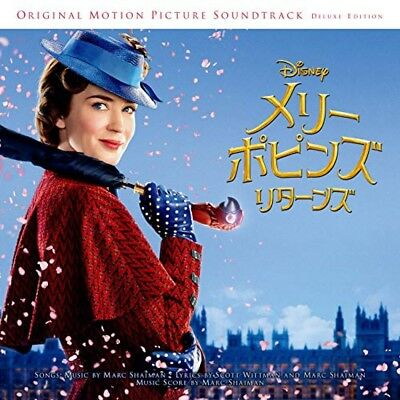 New Mary Poppins Returns Original Soundtrack Deluxe Edition 2 CD Japan UWCD-1016