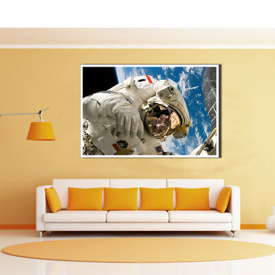 Modern Astronaut Canvas Oil Painting Unframed Poster Picture Home Wall Art Decor