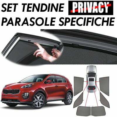 Curtains Blinds For Glass 18558 For Kia Sportage (03/16>)